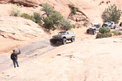 Poison Spider Mesa 4x4 Trail, Moab, UT, jeep safari, full size