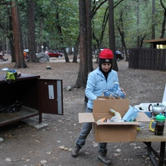 Upper Pines Campground yosemite CA