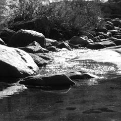 Merced River, Nevada Fall, Yosemite CA