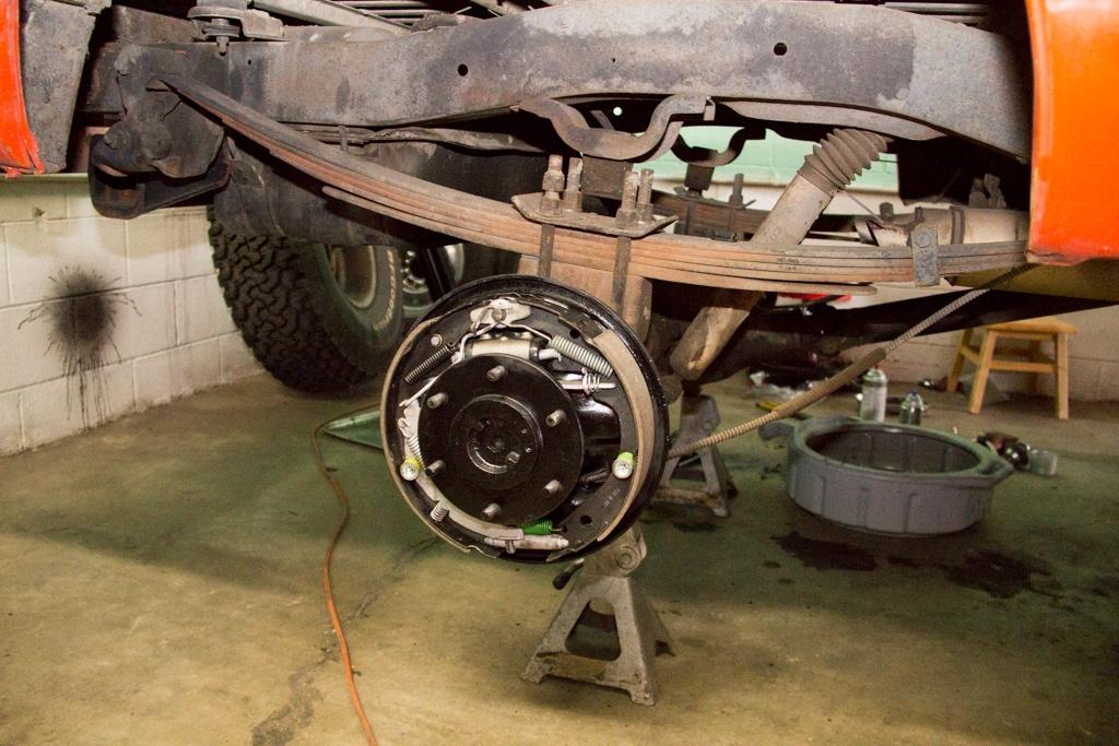 1969 K5 blazer drum brakes